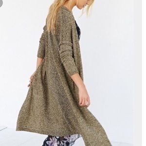 Urban Outfitters silence and noice green duster